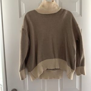 Title neck Style sweater